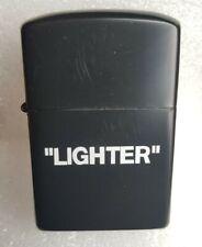 Off White  petrol Lighter