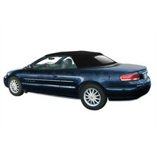 Sebring Convertible Top 01-06 in Black Twillfast with Heated Glass Window