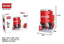 2000-4 New Diamond Building Blocks Mini Street view Cola Drink Beverage Shop