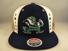 Notre Dame Fighting Irish NCAA Zephyr Snapback Hat Cap Main Event