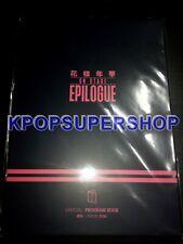 BTS On Stage Epilogue Official Program Book Photobook Bangtan Official Merch