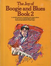 """SHEET MUSIC ALBUM - """"THE JOY OF BOOGIE AND BLUES, BOOK 2"""" - DENES AGAY  (1985)"""