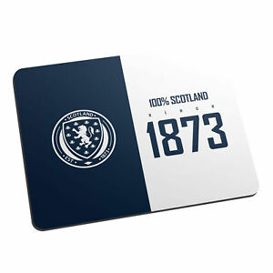 PERSONALISED Scotland Football Gifts - 100 Percent Mouse Mat - Official