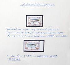 St VINCENT 1982 Ships $2 & $3 Inverted/WMK Error Variety U/M As Described NC1913