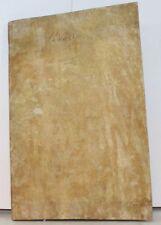 FISCALITE RESTAURATION Livre de comptabilité manuscrit d'un prêteur 1814