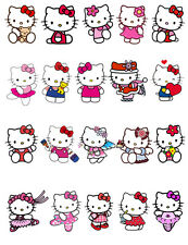 Hello Kitty De Pie Comestible Cake Toppers X 20