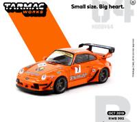 Tarmac Porsche RWB 993 Jagermeister 1/64
