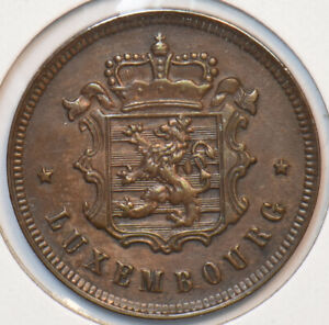 Luxembourg 1930 25 Centimes Lion animal 296096 combine shipping