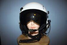 Gentex SPH-5 Dual Visor Helicopter Aircraft Helmet w/ Headset
