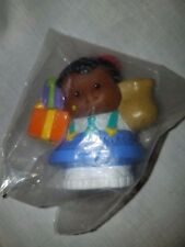 FISHER PRICE LITTLE PEOPLE  AA Boy with Packages and Bag