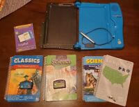 LeapFrog LeapPad Pro Writing Learning System 4 Books + 2 Matching Carts