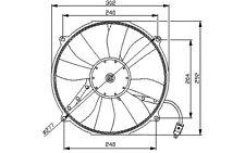 NRF Ventilador, refrigeración del motor MERCEDES-BENZ CLASE C E CLK 47046
