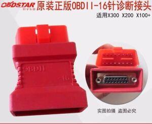 OBDSTAR Xtool OBDII-16 Adaptor for X100+ X200 X300 PRO OBD II Connecter OBD 2