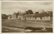 DALMENY VILLAGE - West Lothian Postcard (P2064)