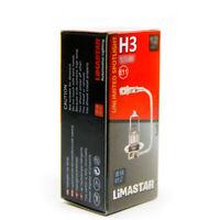 H3 Birnen PK22s 2 Stück Halogen Lampen 3200K 55W Standard Weiß 12 Volt