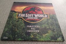 The Lost World Jurassic Park Laserdisc Widescreen Edition