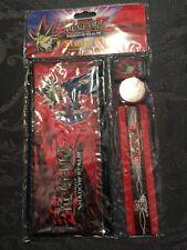 Yu-Gi-Oh! Yu Go Oh Study Kit Pencil Case Gift Set NEW SHADOW REALM NR Christmas