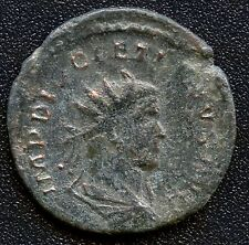 "Ancient Roman Coin ""Diocletian"" 284 - 305 A.D. Jupiter, Dio at feet REF# S3413"