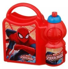 Spider-Man Boys Combo Lunch Box - BRAND NEW - Back To School