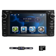 In Dash Car DVD Player Multimedia For Toyota Corolla Camry Stereo GPS Navi+Map~