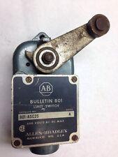 Allen Bradley Limit Roller Switch Bulletin 801 600V Series AC/DC 801-ASC25