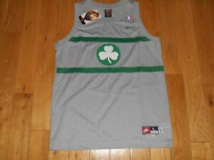 Nike Rewind PAUL PIERCE 1925 Gray BOSTON CELTICS #34 NBA Youth Swingman JERSEY L