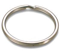 100 Stück Schlüsselringe 16mm vernickelt gehärtet Schlüsselring Split Key Ring -