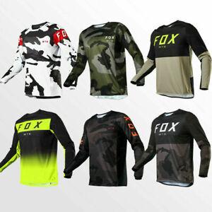 FOX Motocross Jersey Offroad MTB BMX Cycling T-Shirt ATV MX 2022