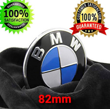 BMW Emblem 82mm Front Hood Rear Trunk Badge Roundel 2 Pins For BMW E39 E65 F01