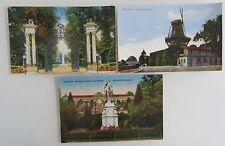 3 Postkarten POTSDAM Brandenburg Schloss Castle Sanssouci ~1910/20 ungelaufen