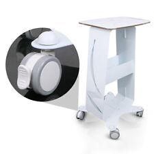 Assembled  Steel Frame Salon Trolley Styling Pedestal Cart Tray For Cavitation