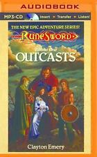 RuneSword: Outcasts 1 by Clayton Emery (2015, MP3 CD, Unabridged)