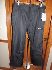 Arctix Womens Cargo Snow Pants Size Large Black