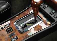 MERCEDES BENZ CHROME SHIFTER BEZEL W126 W140 W210 SEL STAINLESS TRIM FRAME