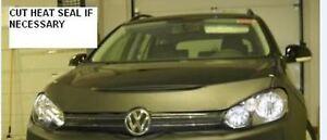 Lebra Hood Protector Mini Mask Bra Fits VW Jetta Sportwagen & Golf 2010-14,GTI