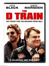 The D Train (DVD, 2015) NEW Jack Black Action, Adventure NOW SHIPPING !