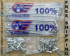 Honda C90 SS50 CL50 CL70 CD50 CD70 S65 CT90 C200 Front & Rear Spoke Set 72 pcs.
