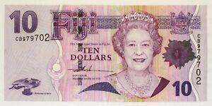 Fiji - 2007 - 10 Dollars - P-111a - Estimated Grade AU-UNC