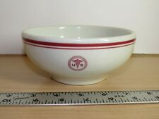 VINTAGE SHENANGO US ARMY MEDICAL DEPARTMENT CEREAL / SOUP BOWLS U-15 1957