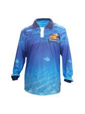 Mens Fishing clothing Long Sleeve Polo Tournament Shirt - Livin the Dream
