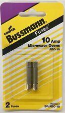 Bussman BP/ABC-10 Microwave Oven Fuse, 10 Amp