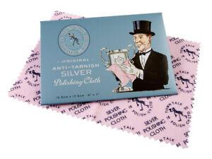 Original Town Talk Anti-Tarnish Silver Jewellery Cleaning & Polishing Cloth