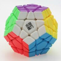 YJ MoYu YuHu Megaminx Magic Cube Twist Puzzle - Stickerless