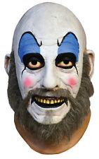 Halloween LifeSize Costume CAPTAIN SPAULDING LATEX DELUXE MASK Haunted House NEW