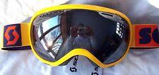 NEW $120 Scott Womens Off Grid Plus Yellow Purple Winter Snow Ski goggles Ladies