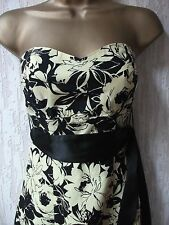 Jane Norman Strapless Dress Size 8 UK/36 EUR
