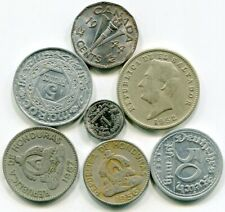 World coins lot of (7) well mixed vintage   lotfeb3263