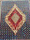 COLLECTORS' PIECE Antique Super Fine Quality Senneh Flat Weave Authentic Kilim