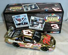 1:24 ACTION 2008 #3 GOODWRENCH 1998 DAYTONA 500 DALE EARNHARDT SR GOLD CHROME
