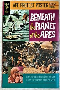 Beneath the Planet of the Apes.  Gold Key, 1971.  High grade with poster.